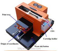 A3 Cheap Garment Printer Flatbed Textile Printer Textile Fabric Printing Machine