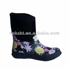 Várias senhoras neoprene botas de pesca; neoprene botas de chuva
