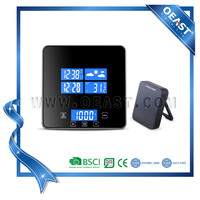 Novelty 2015 new antique kitchen scale with weather station and clock