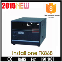 High protection function repeater canbinet for power supply install one or two kend TK868 radio
