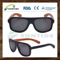 2015 Hot Sale High Quality wood Fashion sunglasses