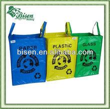 PP nonwoven gloss laminated shopping bag