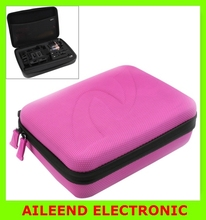 NEW Shockproof Waterproof Carry Case Solid Color Portable Camera Bag for 4 / 3+ / 3 / 2 / 1 Action Camera