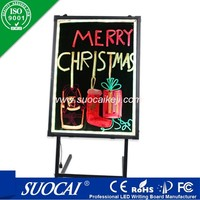 Hot sale advertising products led write on board