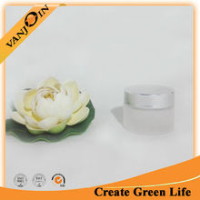 Promotional Clear Glass Frosted Cosmetic Jar 50ml High Quality