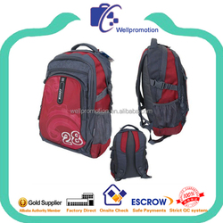high quality promotional rucksack backpack for school girls