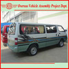 68KW power diesel hiace buses made in China (skd/ckd available for local assembling)