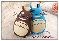 3D Cartoon Cute My Neighbor Totoro Soft Silicone Case cover for iphone 6 iPhone 6 plus, totoro phone case