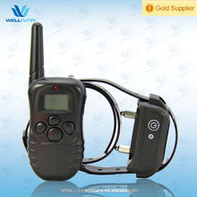 Rechargeable LCD Remote Shock Control Pet Dog Training Collar with 100 Lv of Vibration + 100 Lv of Static Shock+ 1 Level Tone