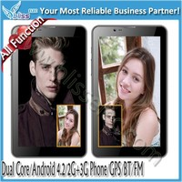 Excellent 7 inch 1024*600 Capacitive 3g sim calling tablet pc