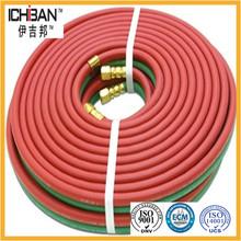 Oxígeno goma flexible acetileno Doble soldadura <span class=keywords><strong>Manguera</strong></span>