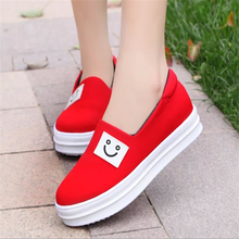 HFR-TS143 2015 Wholesale women casual shoes face elastic lazy comfortable shoes china