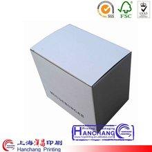 2012 new white square cardboard box