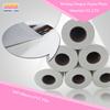High quality low price White PVC self adhesive vinyl roll