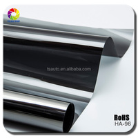 TSAUTOP high qualtity 1.52*30m vehicle window film uv rejected car window tint film removable static vinyl film HA96
