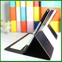 New arrival high-end stand folio tablet case for ipad air