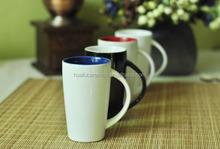 Ceramic Mug 200ml, Ceramic Coffee Mug with Multicolor, Slender Ceramic Cappuccino mug with Handle