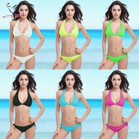 Factory wholesale Cut out Blackless Sexy Push up Swimsuit 2015 for Women
