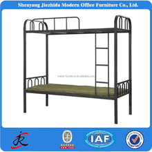cheap double deck twin over bunk bed metal twin double deck steel metal bunk beds for hostels double deck bed