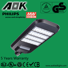 UL DLC TUV SAA 35-300w Meanwell Driver LED Street Light With Philips Chip 5 Years Warranty Solar LED Street Light