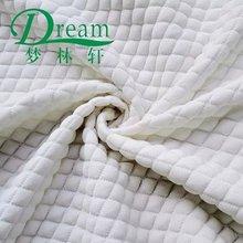 classic white spots medium latest air silkyarn knitted jacquard latex mattress ticking fabric /memory pillow case fabric china