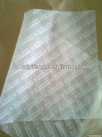Custom Printed Wax Coated Soap Wrapping Paper