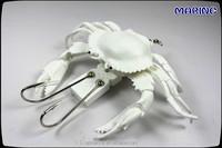 Soft Plastic Fishing Lure Artifical Crab Bait