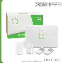 iHome Kits alarm security systems with RF frequency with IR Convert Sensor Control by App hybrid gsm alarm system Maibo S1