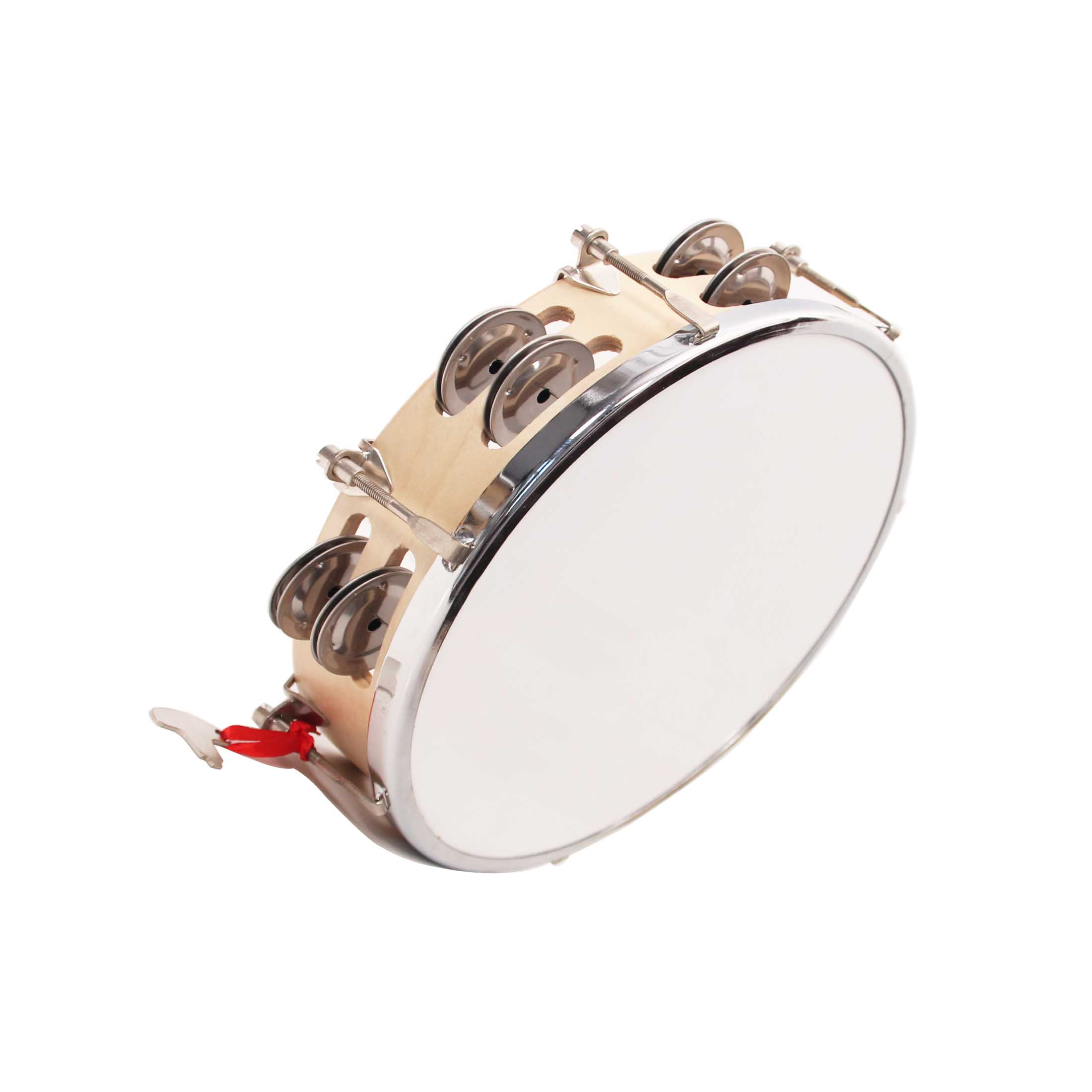 kids toy rattle drum, custom logo print hand drum, Chinese traditional tambourine