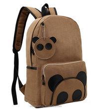 Unisex Fashion Chinese School Bag and Kindergarten School Bag Panda