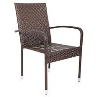 Rattan stackable costco furniture wicker aluminum bistro chairs