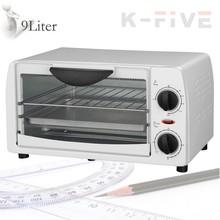 9L mini oven electric baking white oven