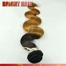 Aliexpress hair Remy hair Two tone color hair extensions