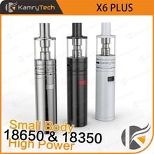top mech mod 18350 or 18650 battery 35w high power X6 PLUS popular mechanical mod e-cig