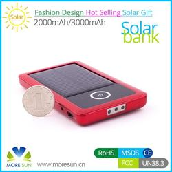 Contemporary hot sell high quality mobile solar charger bag