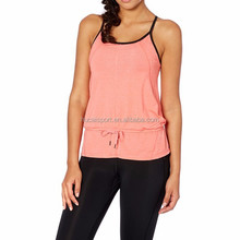 Yoga Wear Factory Wholesale Sexy Stringer Tank Top ,Gym Vest For Woman
