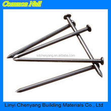 Metal round cap common nail with good quality