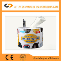 2015 OEM new design leather shoes cleaning wet wipes