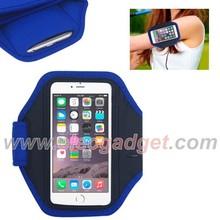 Purple Neoprene Sports Armband Case for iPhone 6