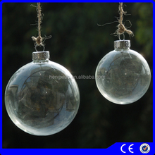 clear glass baubles party festive supplies christmas decorations made in china