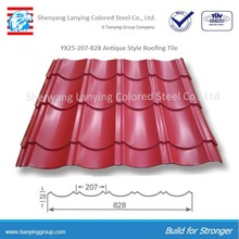 for building house from factory steel roof tile