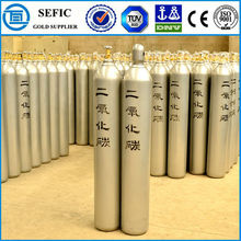 Made In China Oxygen Nitrous Oxide Natural Gas cylinder CO2 gas bottle With Valve