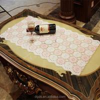 China hot sale new design 50cm PVC printed tablecloth