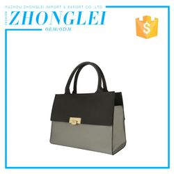 Personalized Business Woman Leather Bag Tote