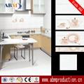 Pulido de porcelana de la pared de la cocina / piso azulejos de precios en india, Abm marca