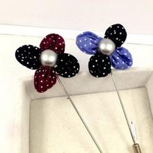 fashion flower men's lapel pin,brooch metal crafts for men