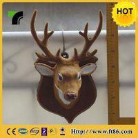 Fashion hot sale wall hanging white deer head