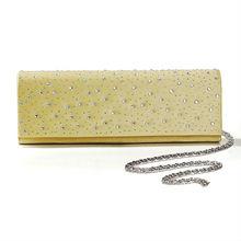 Magnífico de seda mate de bolsos de noche/embragues más colores disponibles