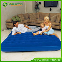 Best Prices Latest easy inflate flocked air bed for sale