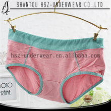 2015 New design hot saling bamboo fiber underwear candy color panty sweet comfortable tanga sex panti